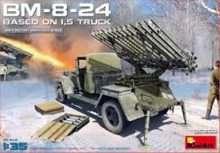 Miniart - BM-8-24 & 1,5t truck