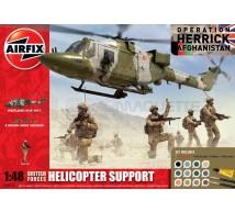 Airfix - Lynx & support team