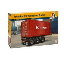 Italeri - Tecnokar 20ft trailer