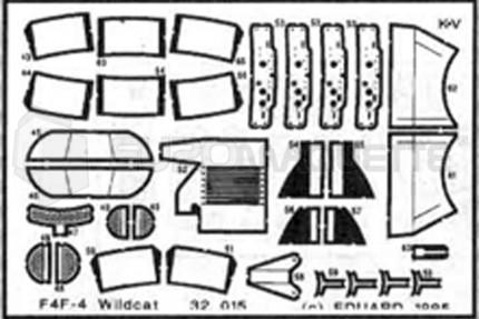 Eduard - F4F-4 Wildcat  (revell)