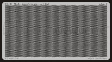 Eduard - Mesh Gauze / Rhomb Type8x6