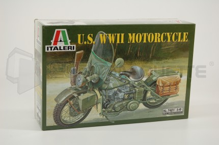 Italeri - Harley Davidson Militaire