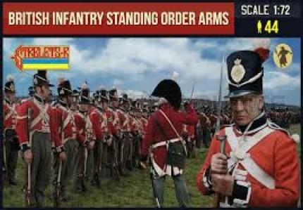 Strelets - British infantry standing order