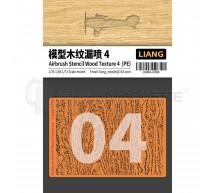 Liang model - Airbrush wood texture stencil PE (4)