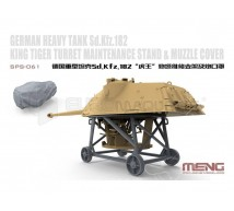 Meng - WWII German turret maintenance stand