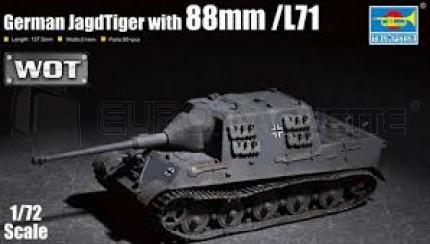 Trumpeter - Jagdtiger & 88mm Gun