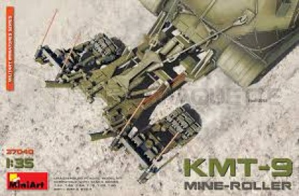 Miniart - KMT-9 mine roller