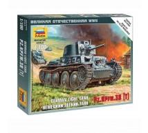 Zvezda - Pz 38(t) 1/100