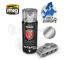 Mig products - Bombe appret bare metal silver (400ml)