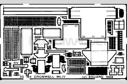 Eduard - Cromwell Mk IV    (tamiya)
