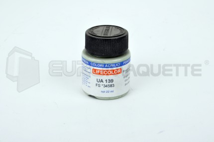 Life Color - Gris Bleu RLM84 UA139 (pot 22ml)