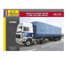 Heller - Volvo F12-20 & Twin axle semi trailer