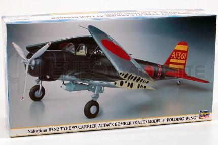 Hasegawa - B5N2 Kate Fold. Wing
