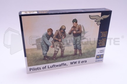 Master Box - Germans pilotes WWII 1/32