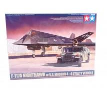 Tamiya - F-117 & Hummer