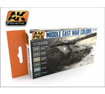 Ak interactive - Coffret IDF tanks