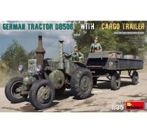 Miniart - German tractor D8506 & Cargo trailer
