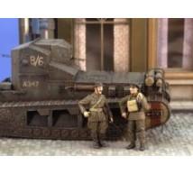 Verlinden - Tankistes Anglais WWI