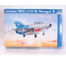 Trumpeter - Mig 21 UM mongolB