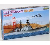 Dragon - USS Spruance 1/700
