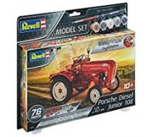 Revell - Coffret Tracteur Junior 108 Porsche