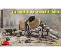Miniart - Concrete mixer set