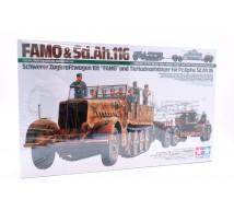 Tamiya - FAMO  18t & remorque