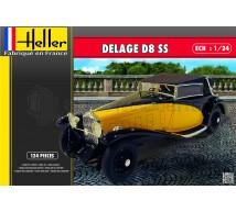 Heller - Delage D8 SS
