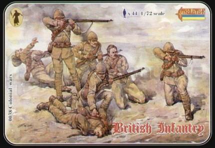 Strelets - British infantry Colonial War