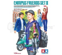 Tamiya - Campus friends (Set 2)