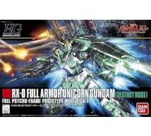 Bandai - HG RX-0 Full Armor (0189487)