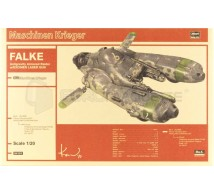 Hasegawa - Falke & Laser gun