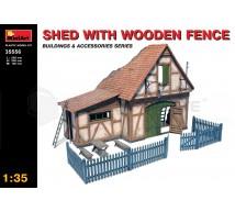 Miniart - Maison façade en bois
