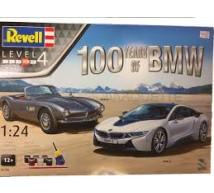 Revell - Coffret 100 ans BMW