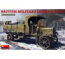 Miniart - WWI Lorry B Type truck