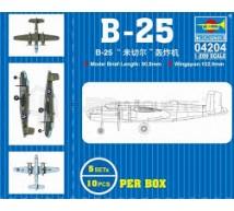 Trumpeter - B-25 1/200 (x5)