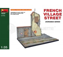 Miniart - French village street