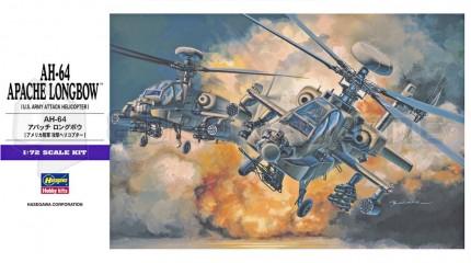 Hasegawa - AH-64D Long bow Apache