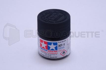 Tamiya - Noir mat XF-1 (pot 10ml)