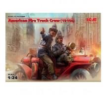 Icm - Fire Truck crew 1910