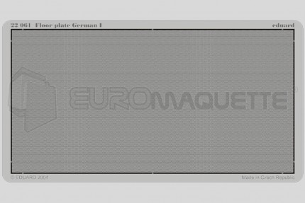 Eduard - German floor plate          (1)