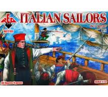 Red box - Italian sailors 16/17e S (set 1)