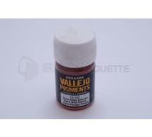 Vallejo - Pigment ocre rouge foncé