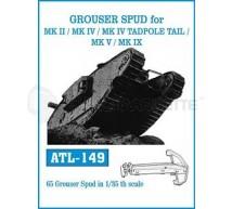 Friulmodel - Grouser spud for Mk II/IV/V/IX tank series