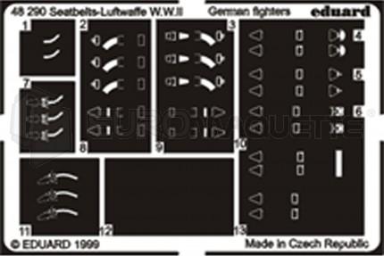 Eduard - Harnais Luftwaffe WWII   (2)
