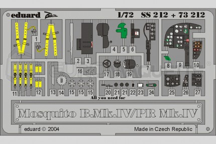 Eduard - Mosquito Mk IV/PR (tamiya)