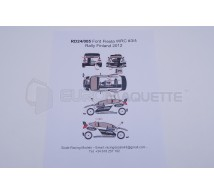 Racing decals 43 - Ford Fiesta 4 Finland 2012
