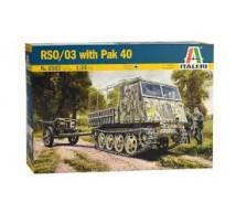 Italeri - Steyr RSO & Pak 40
