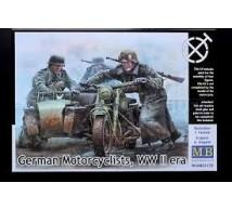 Master box - German Motocyclists WWII