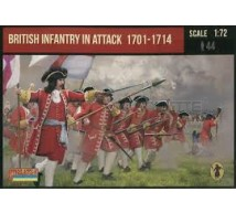 Strelets - British infantry in attack 1701/1714